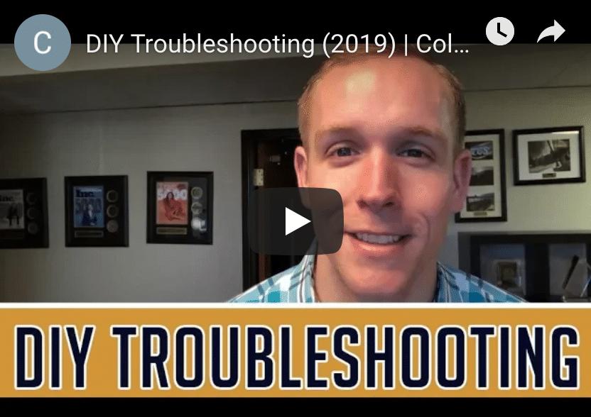 DIY Troubleshooting